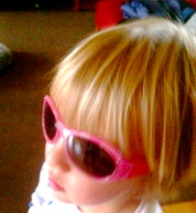 my son's rad pink shades