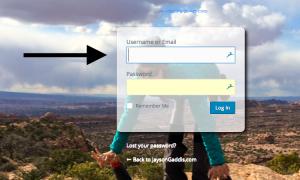Username_arrow