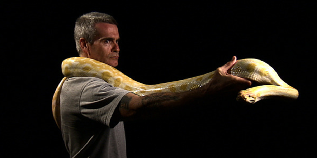henry rollins, the iron