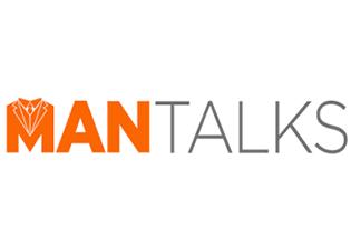 man-talks